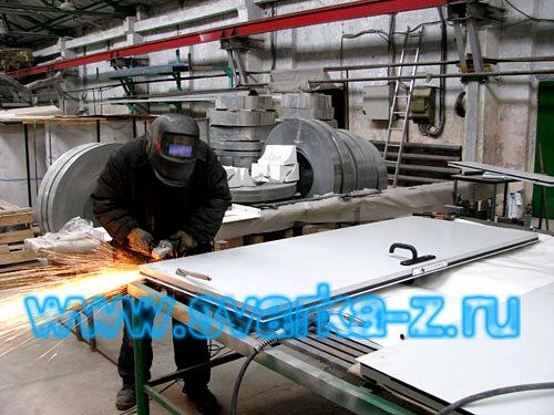 производство стальных дверей технические